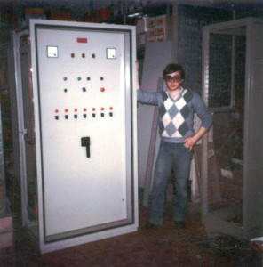 Officina elettrica primi anni '80