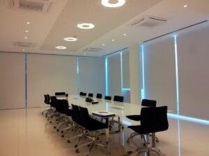 Sala Riunioni con illuminazione LED